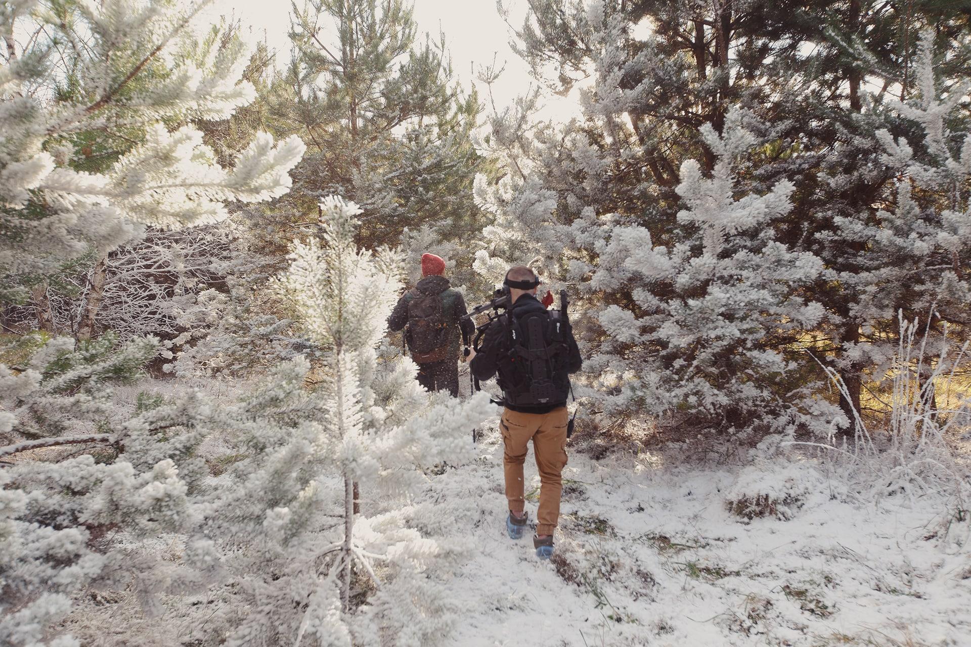 Бэксейдж фото Русская зима